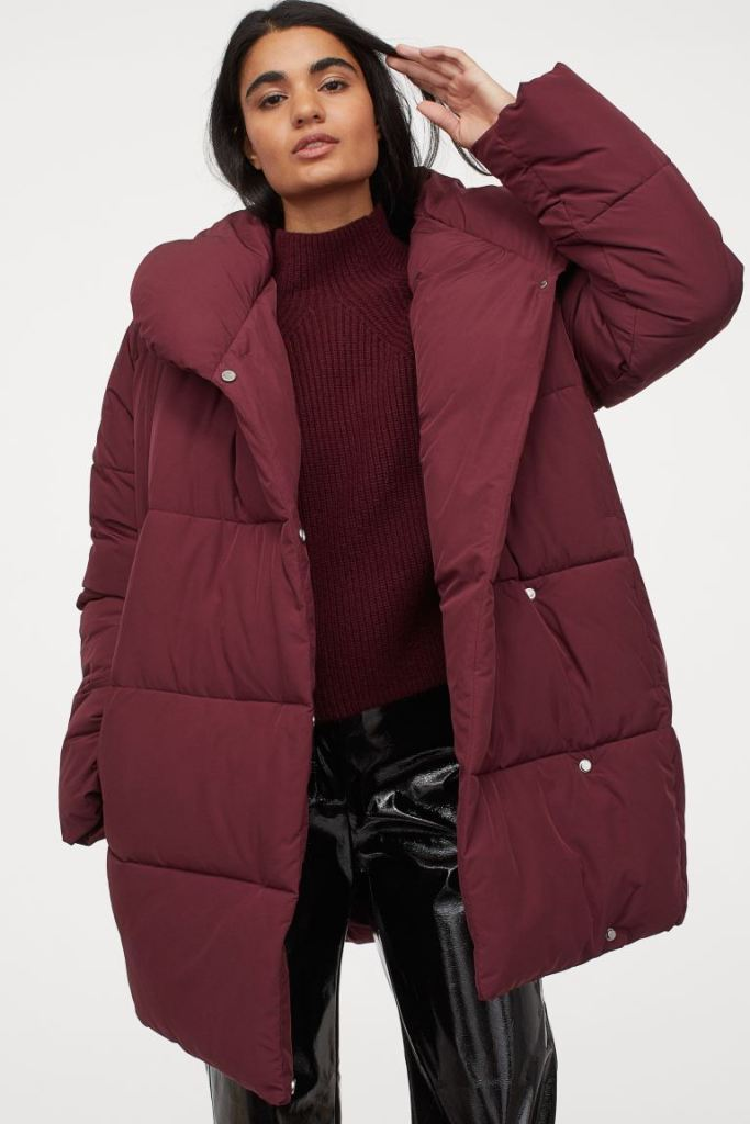H&M Puffer Jacket £39.99, was £49.99