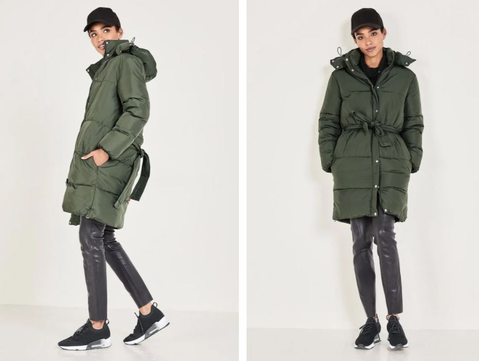 Hush Alianna Hooded Puffer Jacket £165