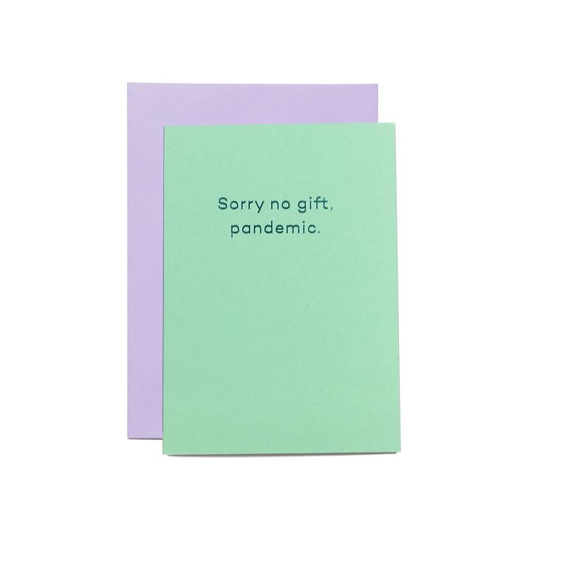 Meanmail - Sorry no gift £3.50