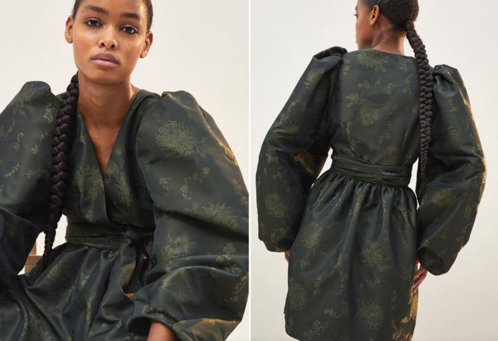 H&M Patterned wrap dress £119.99