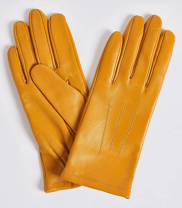 M&S Leather Gloves £17.50