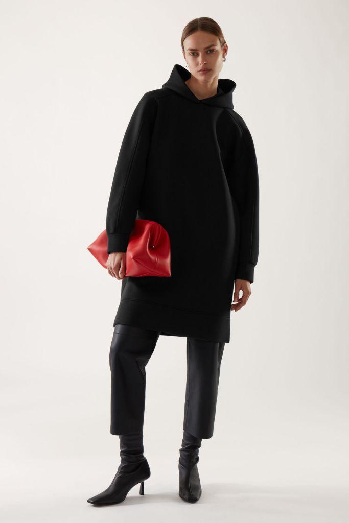 Cos Cocoon fit hoodie inspired sweatshirt dress £69