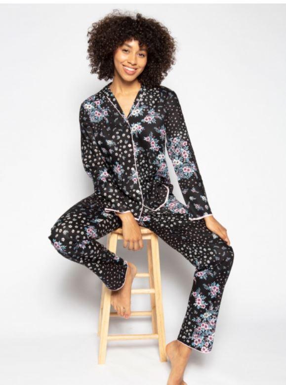 Cyberjammies Hannah Ditsy Floral Print Pyjama Set £48