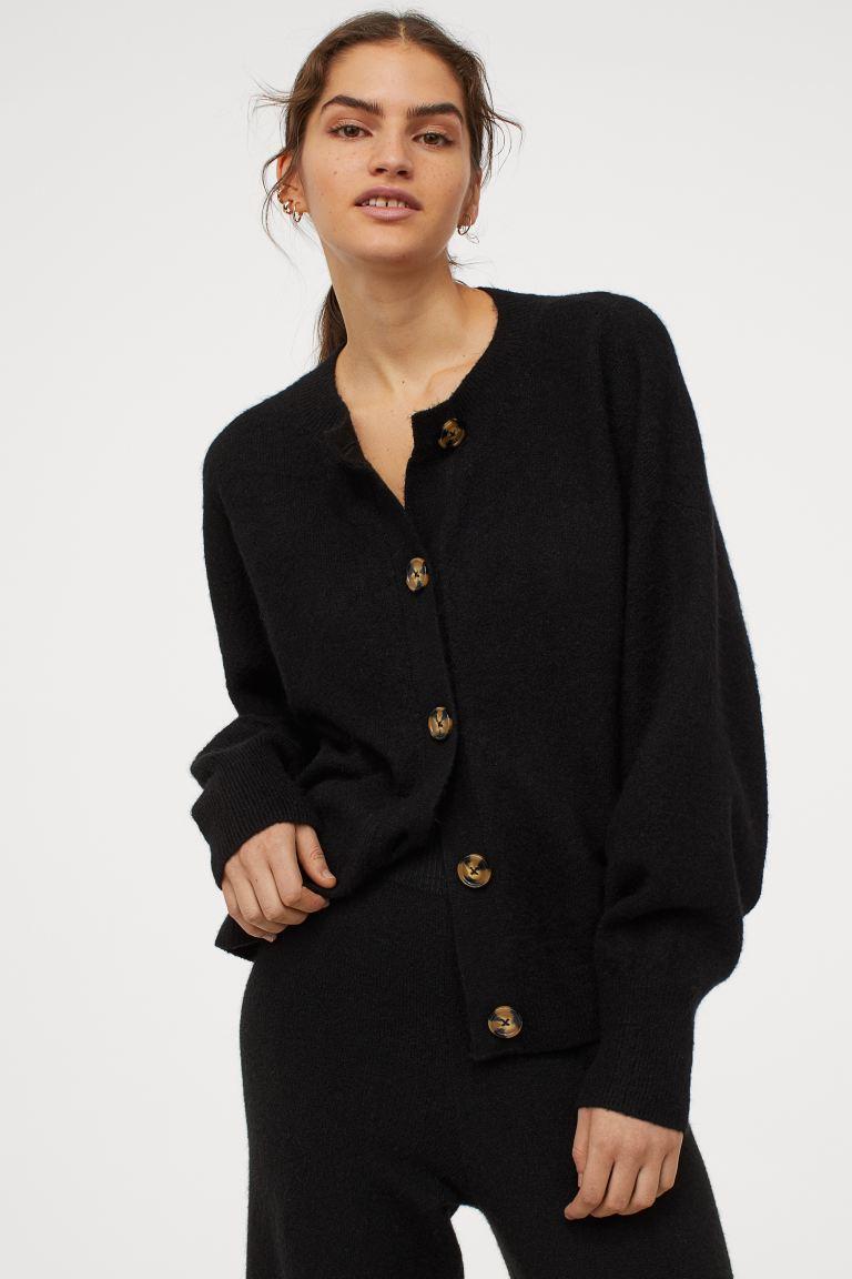 H&M Rib-knit cardigan £17.99