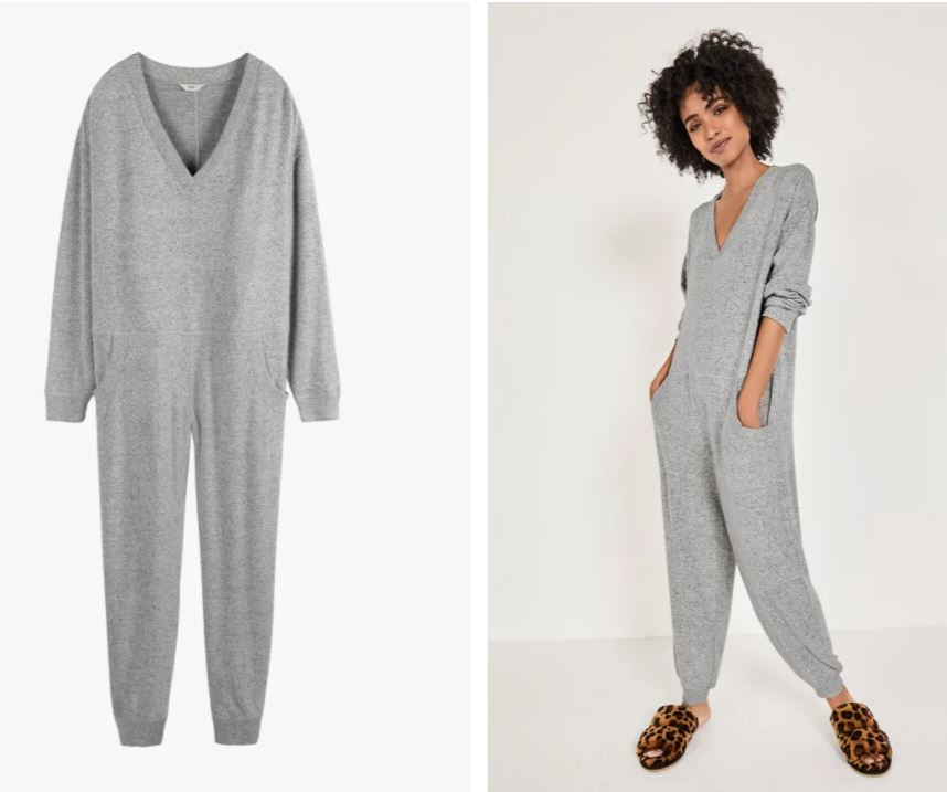 Hush Belle V-neck Supersoft Onesie £69