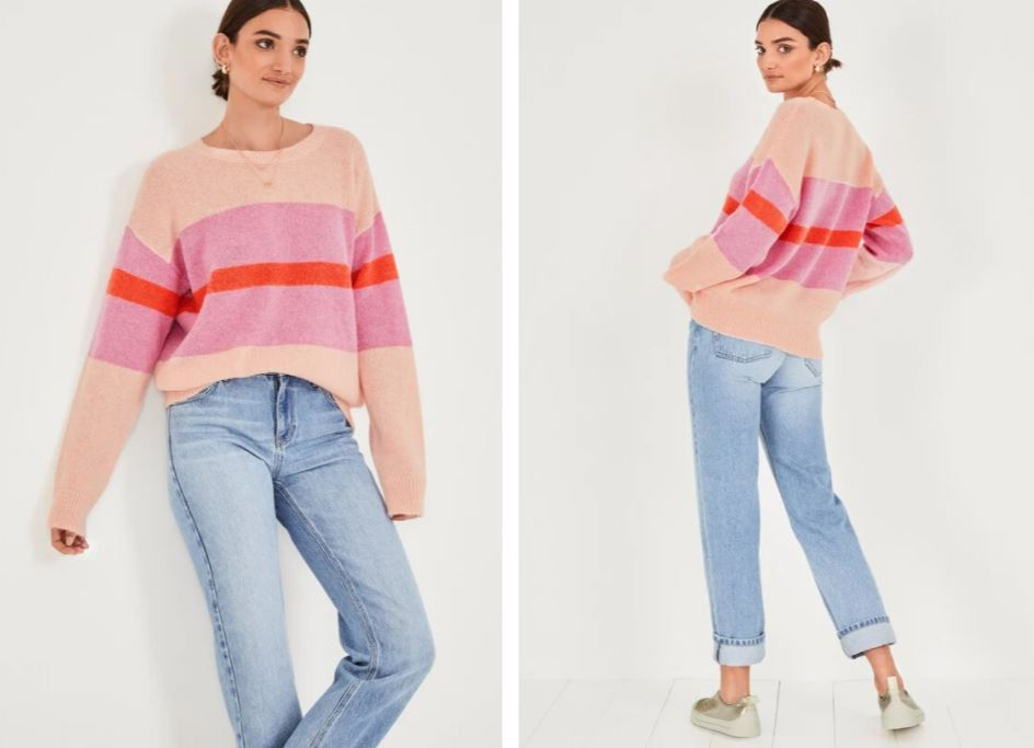 Hush Martha Stripe Jumper £85