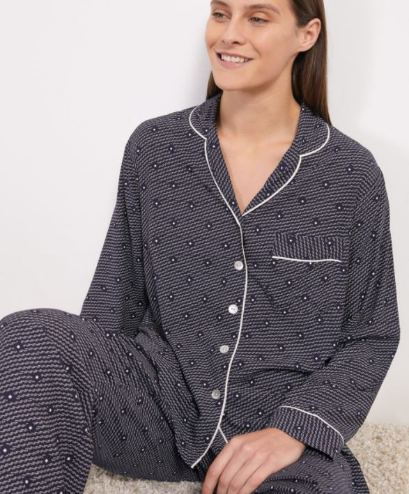 Jigsaw Geo Herringbone Pyjamas £75