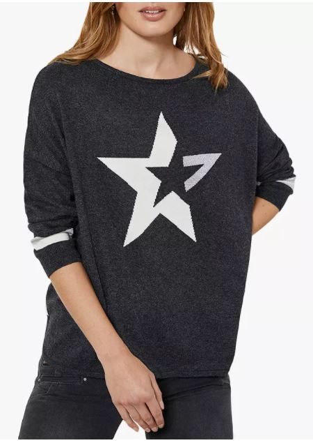 Mint Velvet Star Motif Jumper £79
