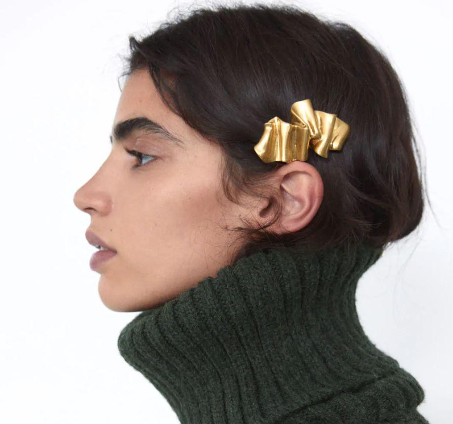 Zara Pack of Metal Hair slides £5.99, were £9.99