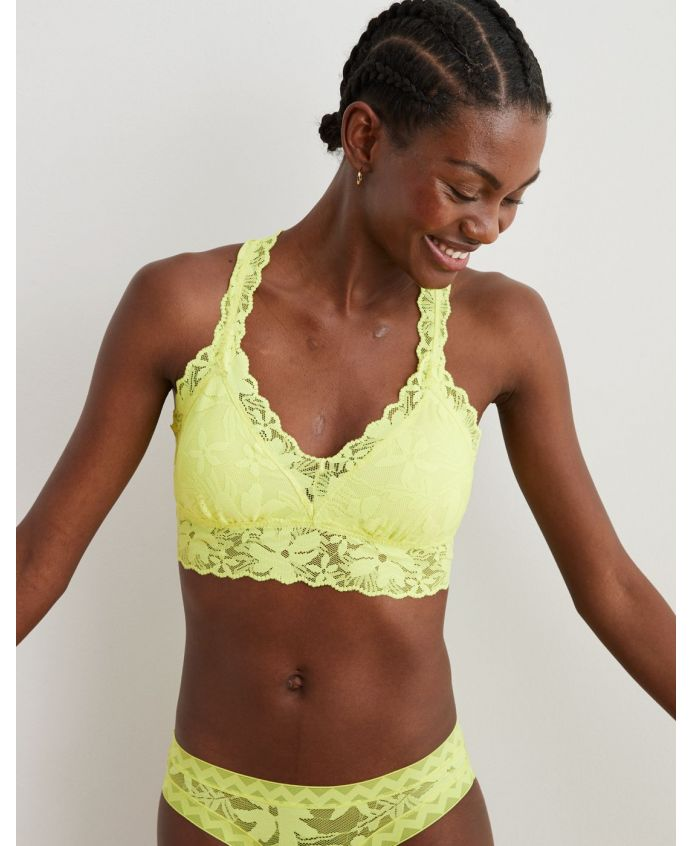 Aerie LOVE! Lace Padded bralette £23.07
