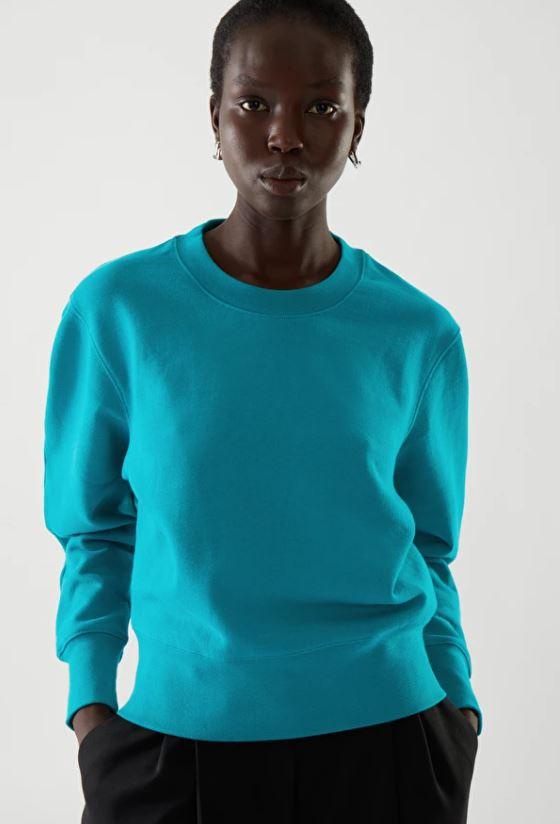 Cos Boxy Sweatshirt £55