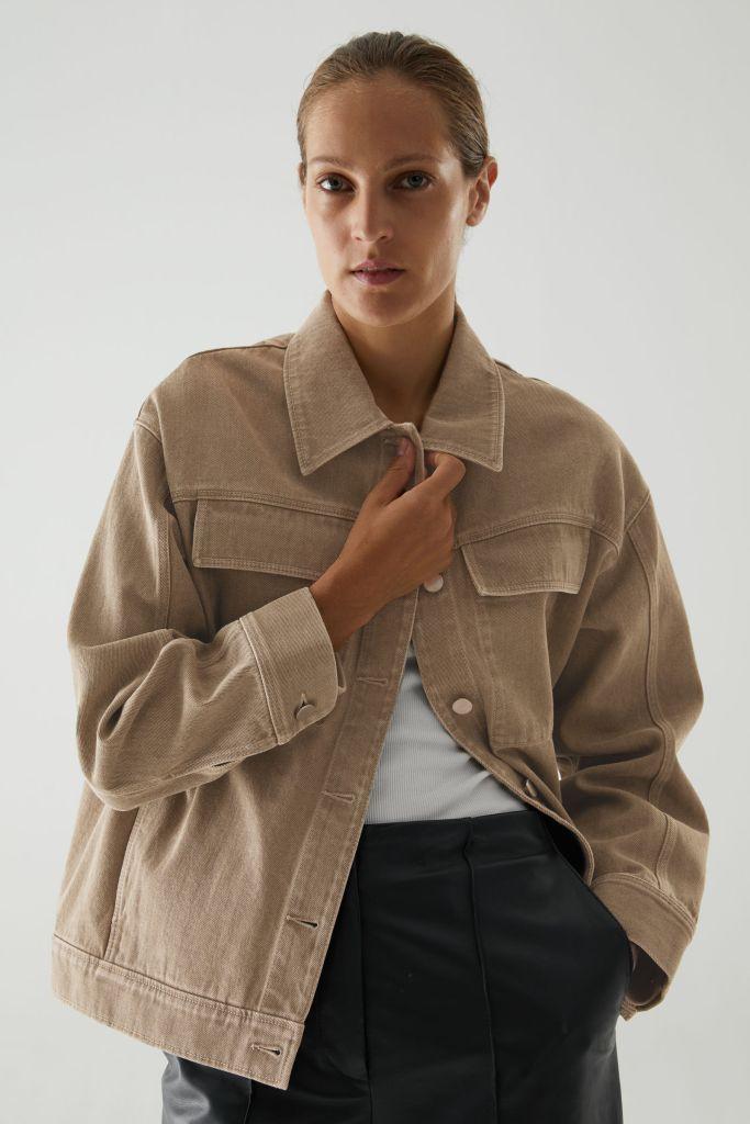Cos organic cotton utility style jacket £79