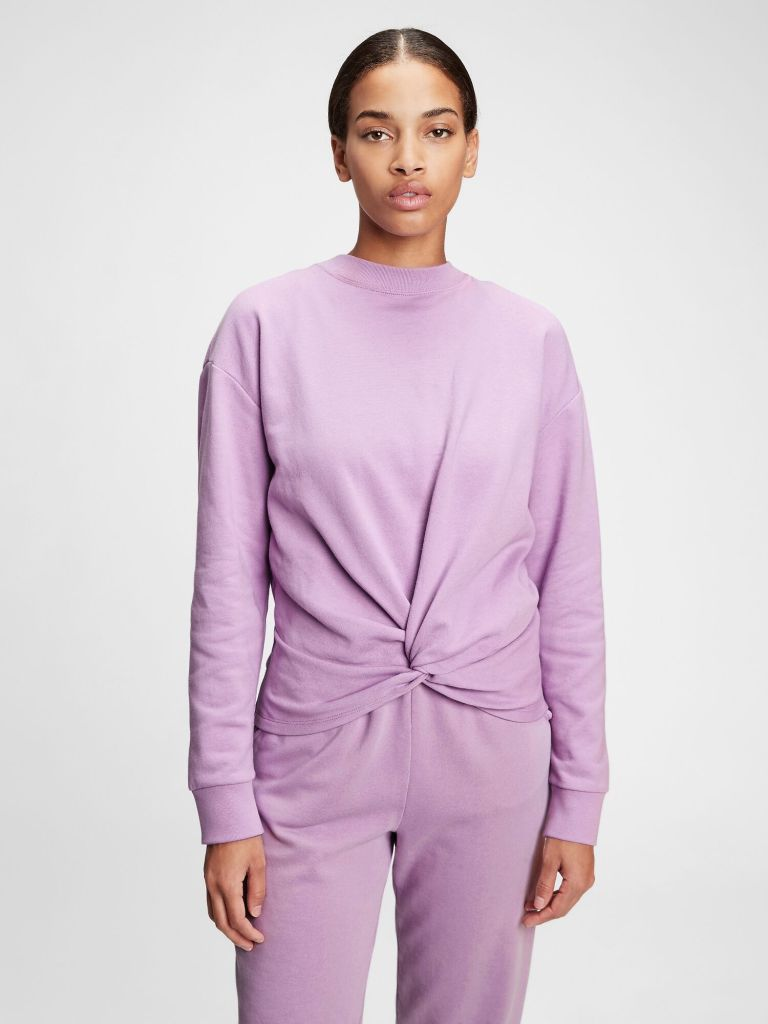 Gap Vintage Soft Twist-front Crewneck Sweatshirt £39.95