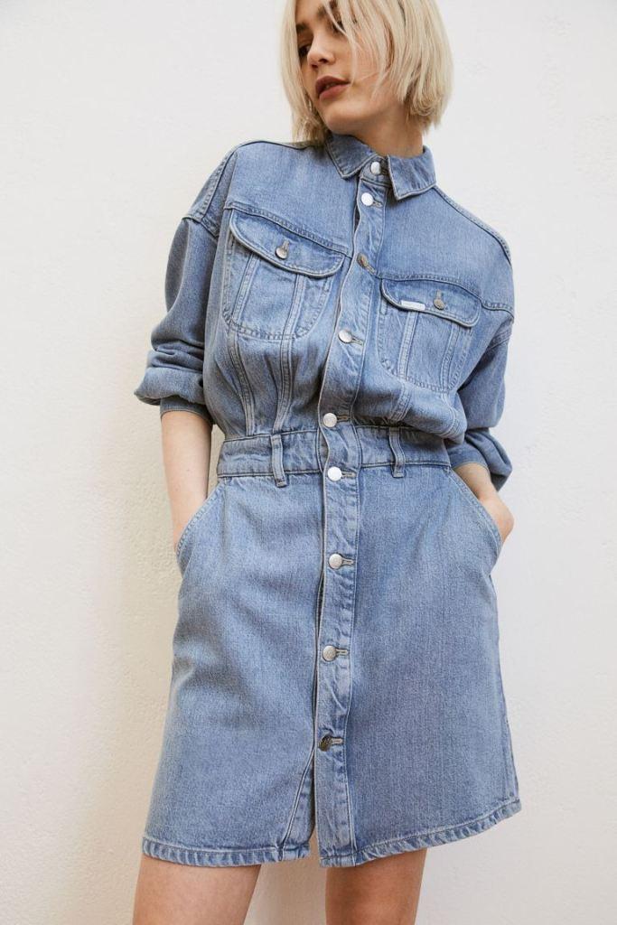 H&M Short lyocell-blend dress £39.99