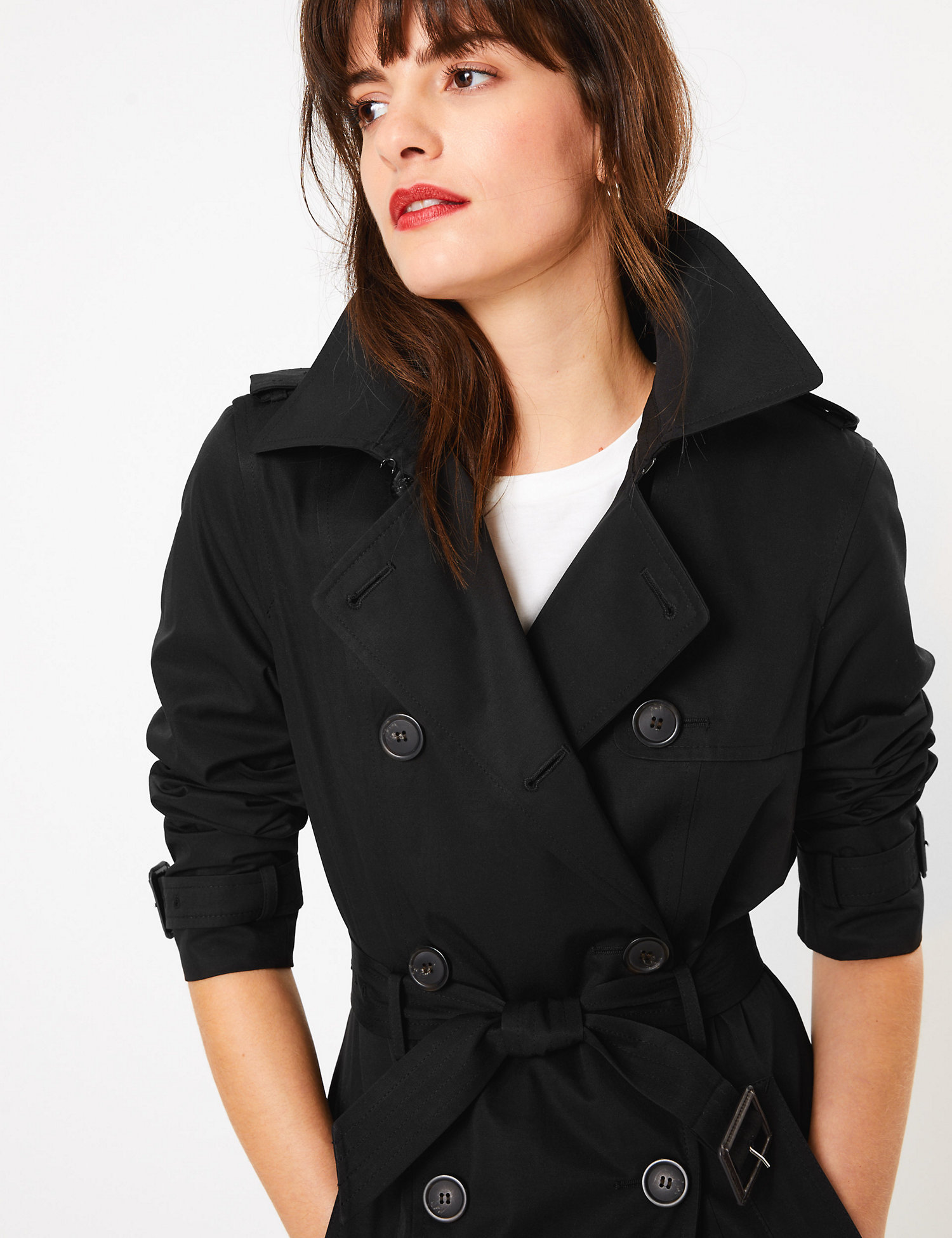 M&S Double Breasted Trench Coat £38.50