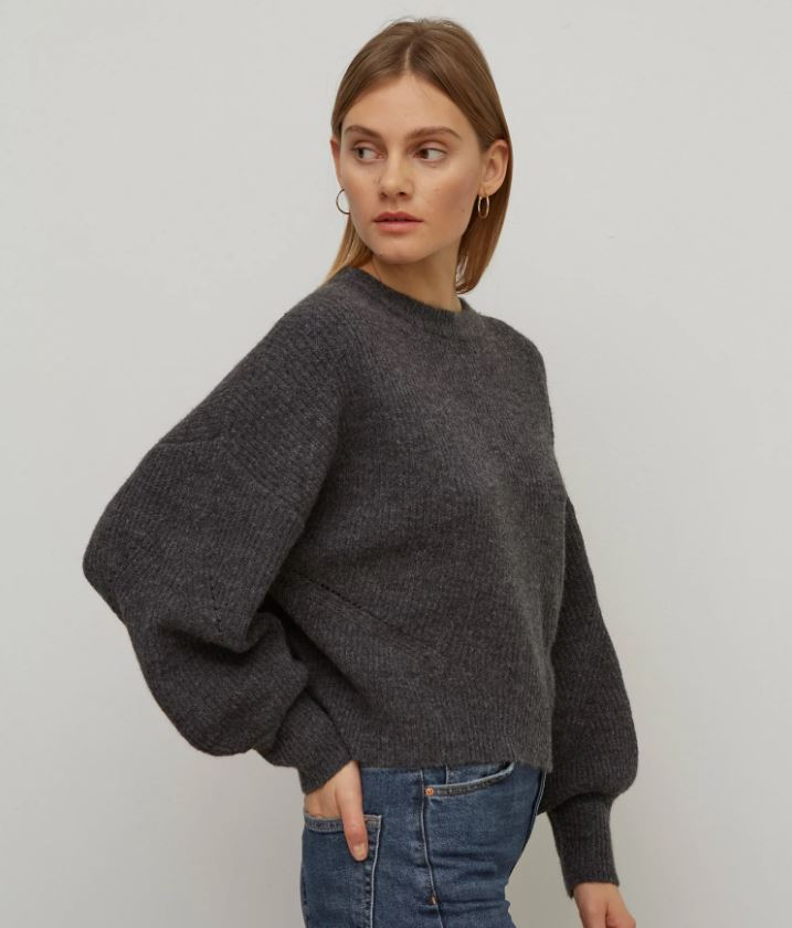 M&S Ribbed Crew Neck Jumper £31.50