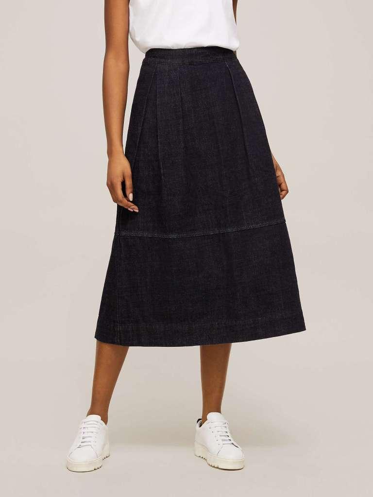 Toast Panelled Denim Skirt £195
