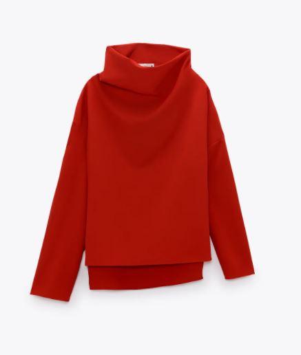 Zara High Neck Shirt £49.99
