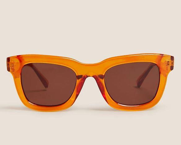 M&S Square Preppy Sunglasses £15