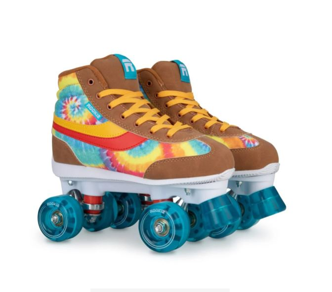 Oliver Bonas Rookie Legacy Tie Dye Quad Roller Skates £69.99