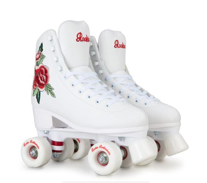 Oliver Bonas Rookie Rosa White Quad Roller Skates £69.99