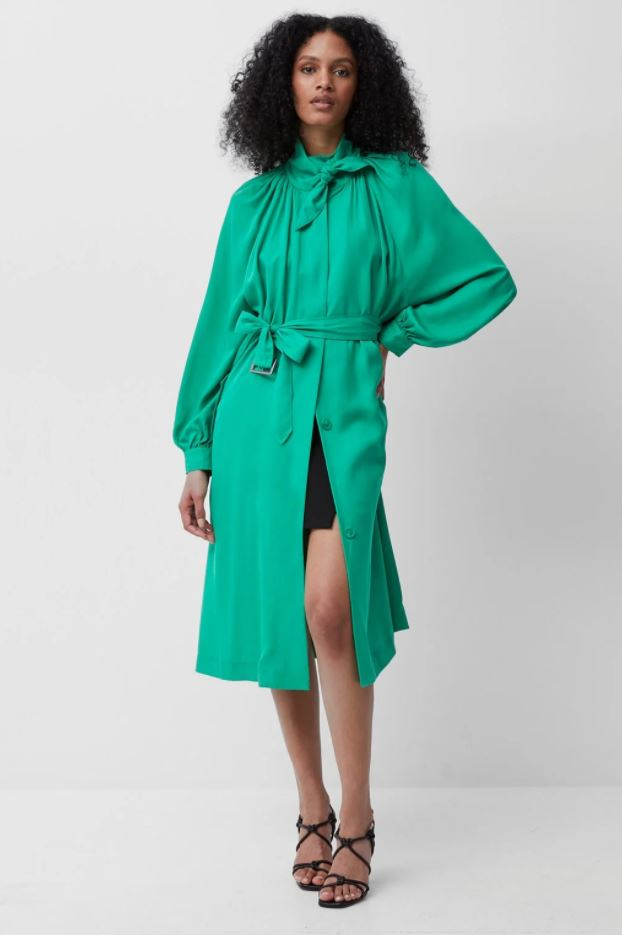 French Connection Adula High Neck Trench Coat £165