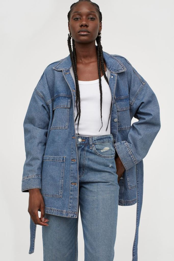 H&M Cotton Utility Jacket £29.99