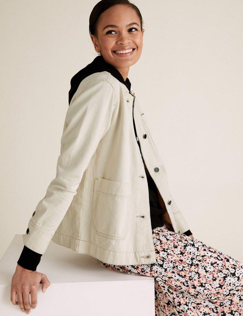 M&S Denim Carpenter Jacket £35