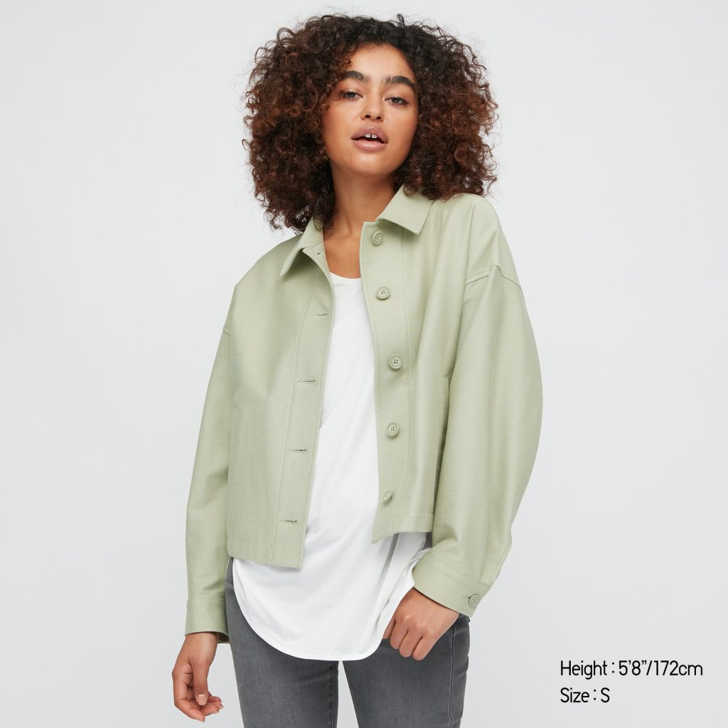 Uniqlo Relaxed Jersey Jacket £29.90